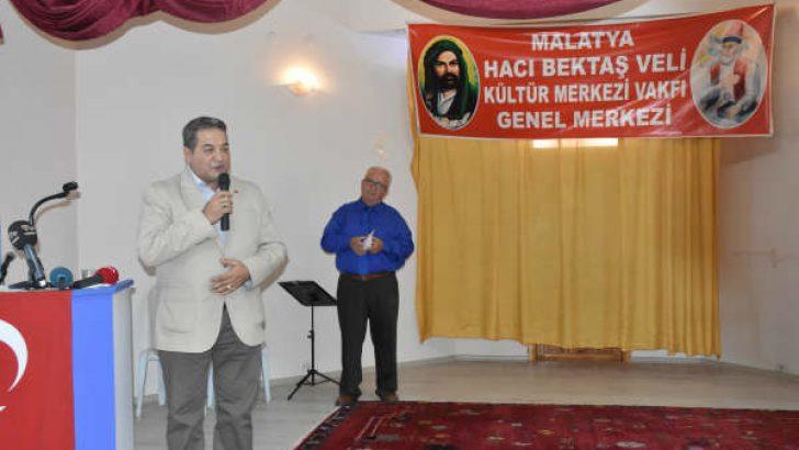 MHP milletvekili Fendoğlu, Hacı Bektaş-ı Veli Vakfı'nın aşure etkinliğinde