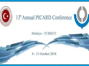 PICARD Konferansı 9-11 Ekim 2018 tarihleri arasında Ülkemiz ev sahipliğinde Malatya'da gerçekleştirilecek.