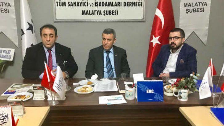 TKDK İL KOORDİNATÖRÜ TÜMSİAD'DA