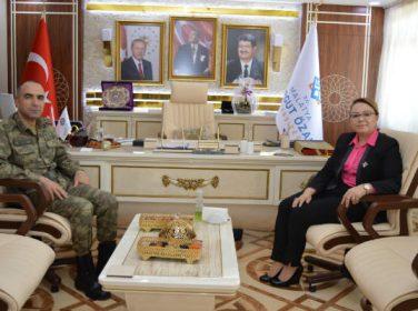 2. Ordu Kurmay Başkanı Tuğgeneral Sayat'tan Rektör Prof. Dr. Karabulut'a ziyaret