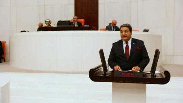 MHP Malatya Milletvekili Mehmet Fendoğlu , Esnaf ve Kobilerin Sıkıntılarını Mecliste Dile Getirdi .