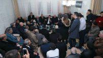 Malatya Büyükşehir Belediye Başkan Adayı Selahattin Gürkan, Orduzu Mahallesi Çarşıbaşı sakinleri ile bir araya geldi