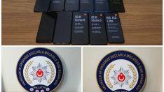 Malatya'da Kaçak Cep Telefonu ve Saat Ele Geçirildi.