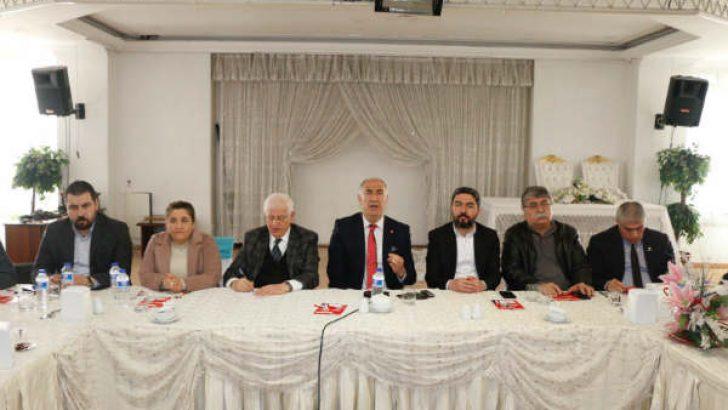 CHP Hekimhan Belediye Başkan Adayı Turan Karadağ Projelerini Açıkladı