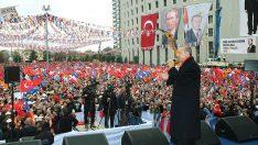 Cumhurbaşkanı Erdoğan, Malatya Mitingi'ne katıldı