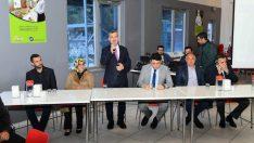 Çınar, 31 Mart'ta gerçekleştirilecek olan Mahalli İdareler Seçimleri kapsamında bir dizi ziyaret ve temaslarda bulundu.