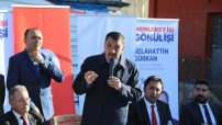 'Biz birlikte Malatya olacağız' diyen Gürkan, 31 Mart'ta Malatya'da gönül belediyeciliğinin destanını hep birlikte yazacaklarını söyledi.