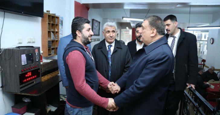 """Gürkan, """"Bu dönem hem memleketimin insanı Malatya için hem de ülkemin insanı ve selameti için sizlerden oy istiyorum"""