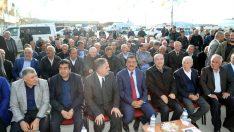 Gürkan, Kale İlçesi'ni ziyaretinde yaptığı konuşmada, Malatya'nın 13 ilçesi ve büyükşehir ile birlikte bir takım halinde çalışacaklarını ifade etti.