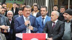 Gürkan: Bizim geldiğimiz yerde hizmet vardır. 31 Mart'tan elimiz güçlü çıkalım istiyorum.