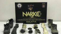 Malatya'da yapılan Operasyonda Ayakkabı'dan Uyuşturucu Maddesi Çıktı Video Haber