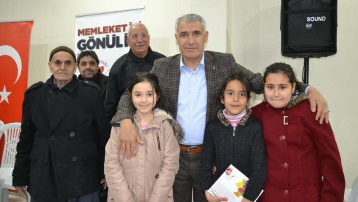 Güder, daha sonra Göztepe ve Hanımınçiftliği Mahallelerinde vatandaşlarla bir araya geldi.