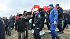 Şehit Polis Memuru İbrahim Macit Gözyaşları İçinde Toprağa Verildi .