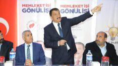 """Gürkan, """"Türkiye rekorunun Malatya'da kırılması lazım. 31 Mart'ta sandıktan güçlü çıkarsak elimizde güçlü olur. Hep birlikte güzel hizmetler yapacağız"""" dedi."""