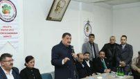 Selahattin Gürkan Malatya Haçova Köyü Kültür ve Dayanışma Derneği'ni ziyaret etti.