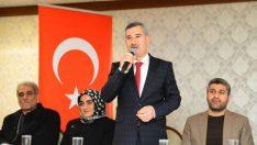 Mehmet Çınar, 31 Mart'ta gerçekleştirilecek olan yerel seçim kapsamında çalışmalarını tüm hızıyla sürdürüyor.