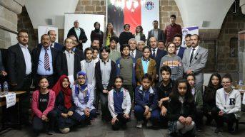 Battalgazi Belediyesi'nin katkıları ile Battalgazi Milli İlçe Eğitim Müdürlüğü tarafından ortaokul öğrencileri arası bilgi yarışması düzenlendi