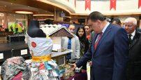 """Malatya Büyükşehir Belediyesi tarafından yürütülen """"Çevre Bilinci Eğitimi ve Sıfır Atık"""" projesinin uygulama aşamasında """"Geri Dönüşüm"""" sergisi açıldı."""