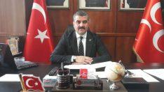 MHP Malatya İl Başkanı R.Bülent Avşar, Ramazan Bayramı dolayısıyla mesaj yayınladı.