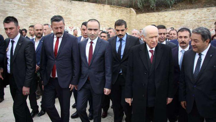 Devlet Bahçeli Hamit Fendoğlu'nu Unutmadı