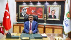 """MBB Başkanı Selahattin Gürkan, """"On bir ayın sultanı Ramazan ayına girmenin mutluluğunu yaşıyoruz."""""""