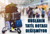 Rus turistlerin en çok tercih ettiği ülkeler açıklanırken, son 2 yıldır en çok Türkiye'yi ziyaret ettikleri görüldü.