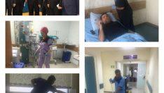 Turgut Özal Tıp Merkezinde Temizlik gözle görünmeye başladı