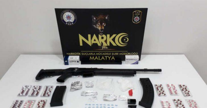Malatya Merkezli 5 İlde Uyuşturucu Operasyonu Video Haber