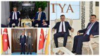 Vali Baruş'dan, Belediye Başkanlarına Hayırlı Olsun Ziyareti