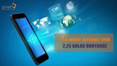 Medya takip ve raporlama ajansı PRNet, mobil internet ücretine yönelik yapılan araştırmayı inceledi