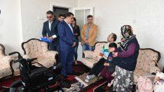 Akülü arabası çalınan malulen emekli polis memuruna Başkan Gürkan'dan yardım eli