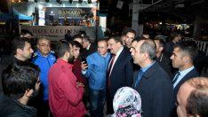 Malatya Büyükşehir Belediyesi, Kapalı Çarşı üstüne kurduğu İftar Çadırında binlerce kişiyi ağırlıyor.