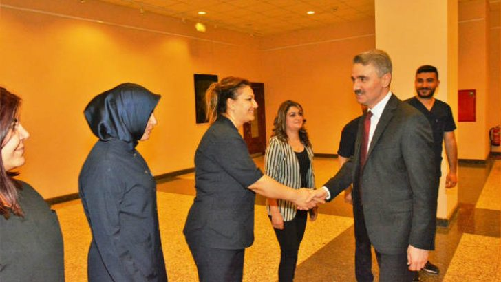 Vali Baruş, Hemşirelerle İftar Programında Bir Araya Geldi