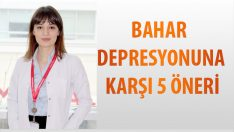 Bahar Depresyonuna Karşı 5 Öneri