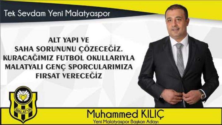 İşadamı Muhammed Kılıç, Yeni Malatyaspor Başkanlığına adaylığını açıkladı. VİDEO HABER