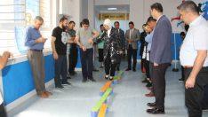 AK Parti Malatya Milletvekili ve MKYK Üyesi Öznur Çalık, İbni Sina Özel Eğitim Uygulama Okulunda Spor Salonu açılışına katıldı.