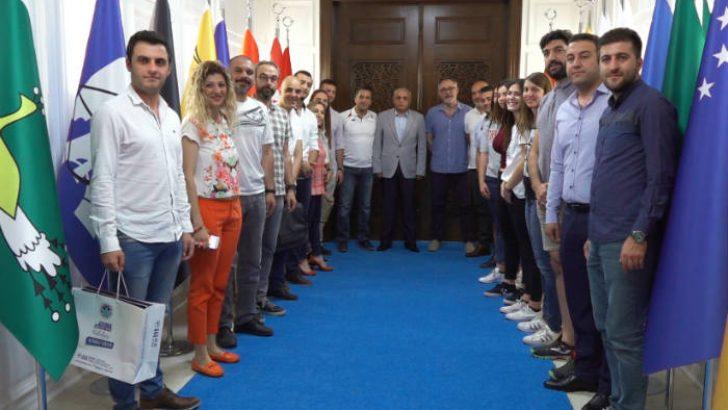 İspanya, Portekiz ve İtalya'dan Gelen Heyet, Battalgazi Belediyesi'ni Ziyaret Etti