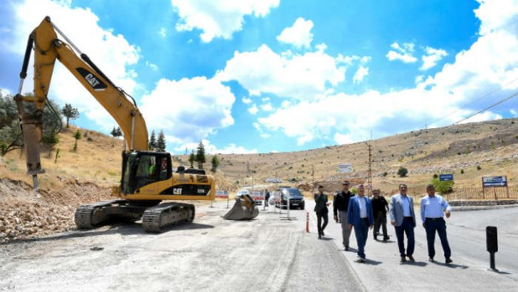 Malatya Büyükşehir Toki yoluna İlk Kazmayı Vurdu
