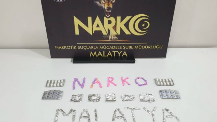 Malatya'da Ecstasy ve  Bonzai Ham Maddesi Ele Geçirildi