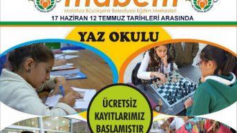 Malatya Büyükşehir Belediyesi Kültür ve Sosyal İşler Dairesi tarafından düzenlenen Yaz Okulu, bu yıl 6'ıncı kez kapılarını açacak