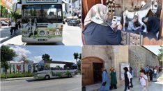 Battalgazi Belediyesi tarafından Malatya'da ilk kez 2014 yılında hizmete sunulan Tur Otobüsü, 'Tarihe Yolculuk' turlarına bu yıl da devam ediyor