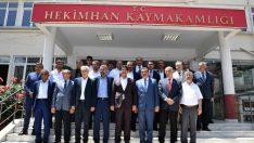 Malatya Büyükşehir Belediye Başkanı Selahattin Gürkan, ilk ilçe gezisini Hekimhan'a yaptı