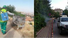 Malatya Büyükşehir Belediyesi haşerelere karşı mücadele çalışmalarını geceli-gündüzlü sürdürüyor