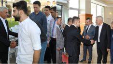 Güder, Ramazan Bayramı dolayısıyla bir dizi bayramlaşma programına katıldı