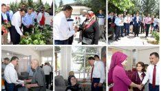 MBB Başkanı Selahattin Gürkan Ramazan Bayramı öncesinde bayram ziyaretlerinde bulundu.