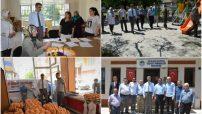 Sn Malatya Valisi Aydın Baruş, Sancaktar ve Taştepe Mahalle Muhtarlarını Ziyaret Etti