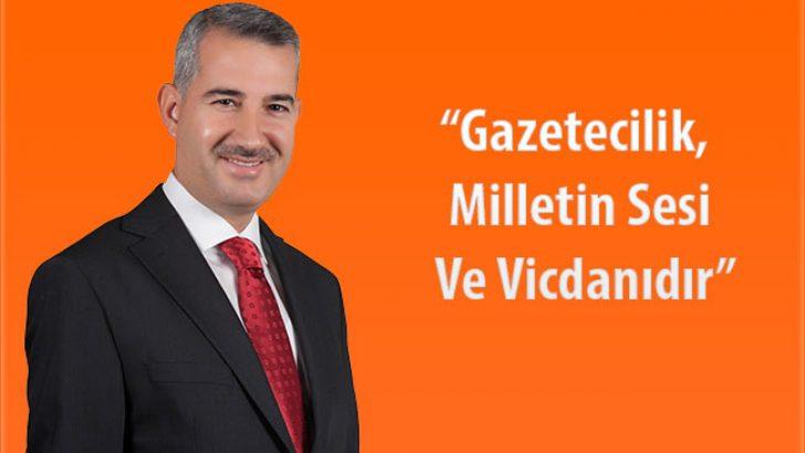 """Yeşilyurt Belediye Başkanı Mehmet Çınar, """"Gazetecilik, Milletin Sesi Ve Vicdanıdır"""""""