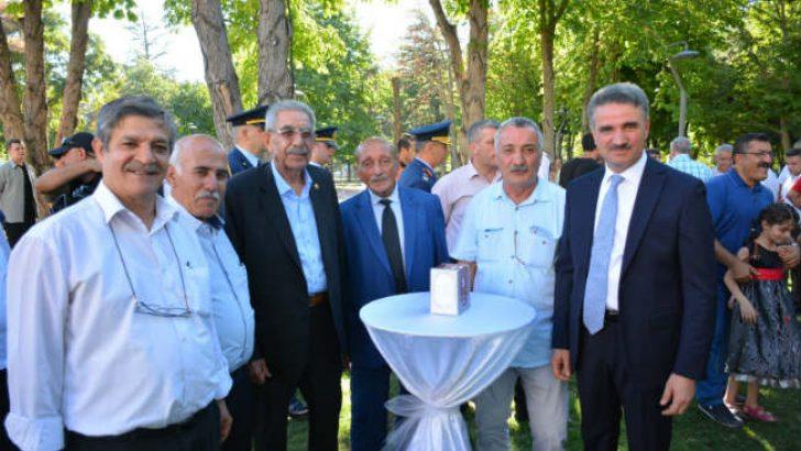 Malatya'da Resmî Bayramlaşma Töreni Düzenlendi