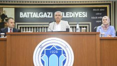 Battalgazi Belediye Meclisi, Ağustos ayı olağan toplantısını gerçekleştirdi