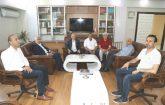 Battalgazi Belediye Başkanı Osman Güder, Malatya İl Müftüsü Veysel Işıldar'a hayırlı olsun ziyaretinde bulundu.